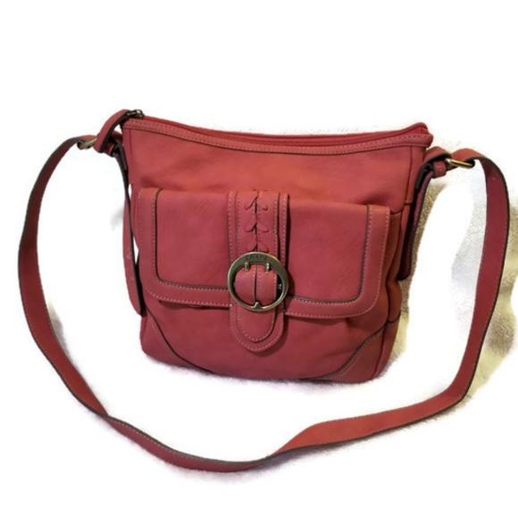 🌷3  20🌷 Chaps leather cross body bag 1e7bbea78839c